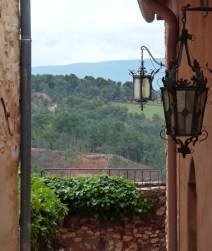 Roussillon -view, Provence, France