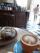 Morning break,m Little Marionette Cafe, Sydney