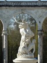 Courtyard-Versailles, France