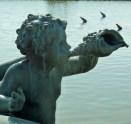 Fountain detail-Versailles, France