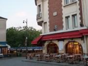 Montmartre cafe before the crowd, Paris