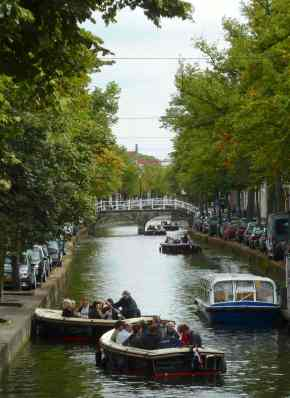 Delft, boating