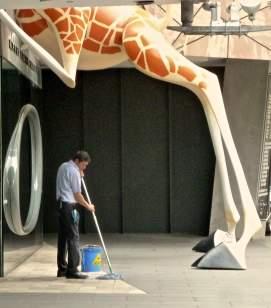 Melbourne: cleaner ACMI