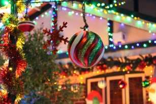 Sydney Christmas lights twinkle