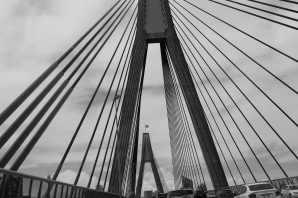 Symmetry- Anzac Bridge, Sydney