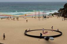 Scale- Sculpture by the Sea in Sydney, Australia