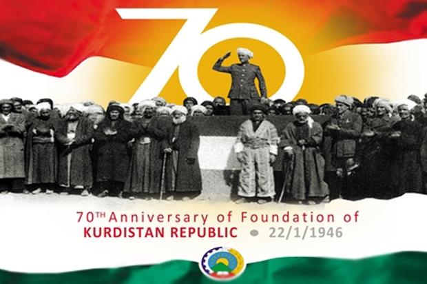 The 70th Anniversary of the Republic of Kurdistan