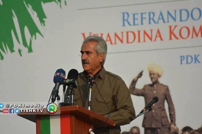 """Mustafa Hijri: """"Kurdish Independence is the Outcome of Peshmergas Sacrifices"""""""
