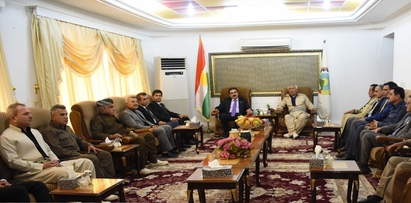 PDKI and KDP Discussed Regional Situation and the Kurdish Issue