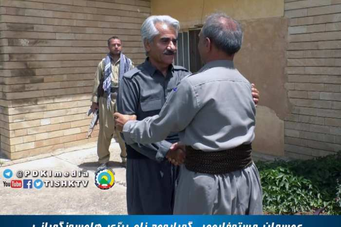 A legendary Kurdish hero is welcomed back following 28 years imprisonment
