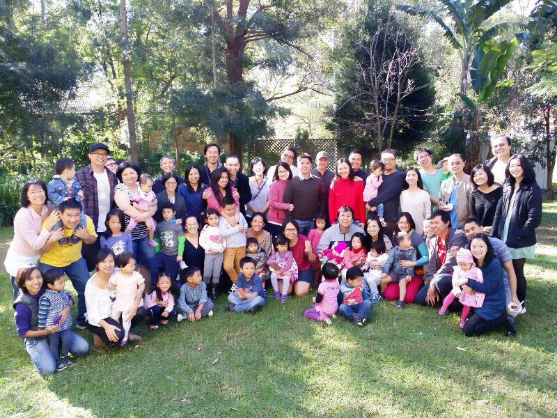 Fellowship Keluarga Muda Katholik Indonesia di Sydney, 2014