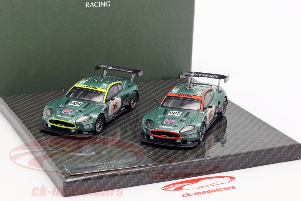 Aston Martin DBR9 set Le Mans 2006 A01MC2