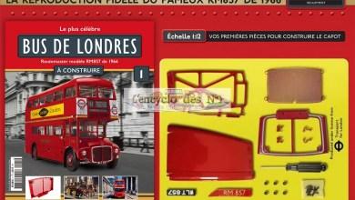Photo of Hachette : construisez le bus de Londres
