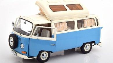 Photo de 1/18 : un magnifique Volkswagen Combi T2a aménagé signé Schuco