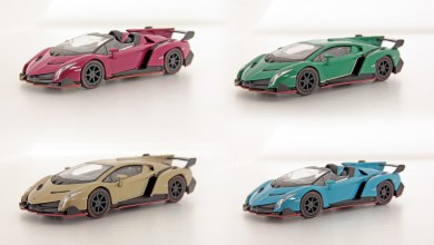 Photo of 1/64 : Kyosho a miniaturisé la Lamborghini Veneno