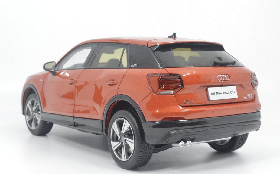Audi Q2L Paudi orange pas cher
