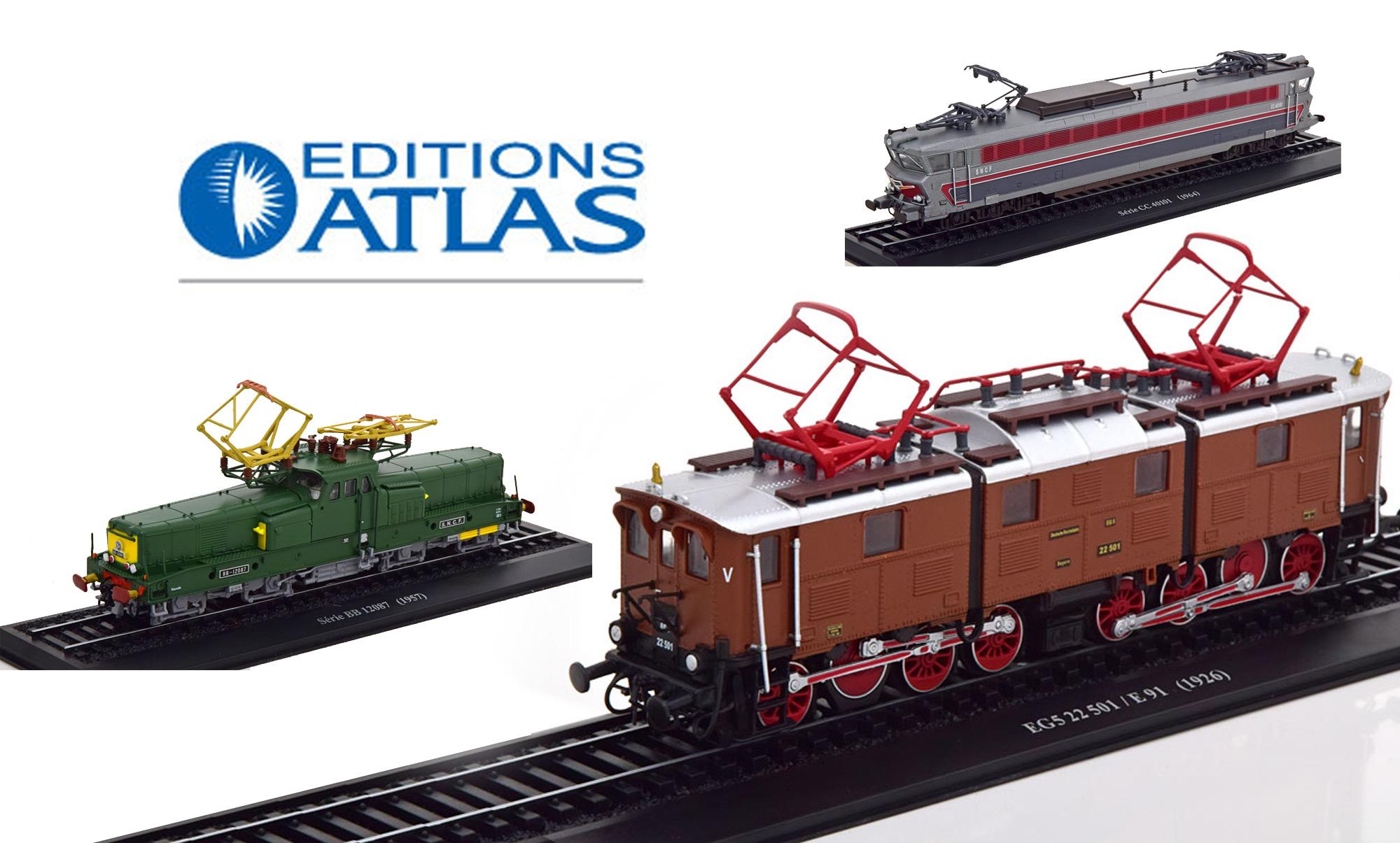 Modelissimo écoule ses stocks à petit prix des locomotives Atlas