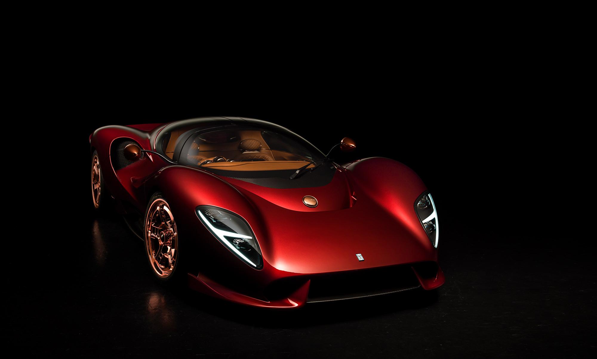 De Tomaso P72 2020 moteur