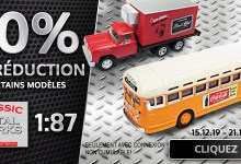 Photo of Modelcarworld : 30% de réduction sur le 1/87