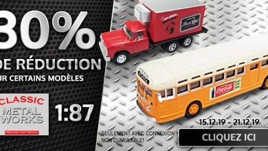 Photo de Modelcarworld : 30% de réduction sur le 1/87