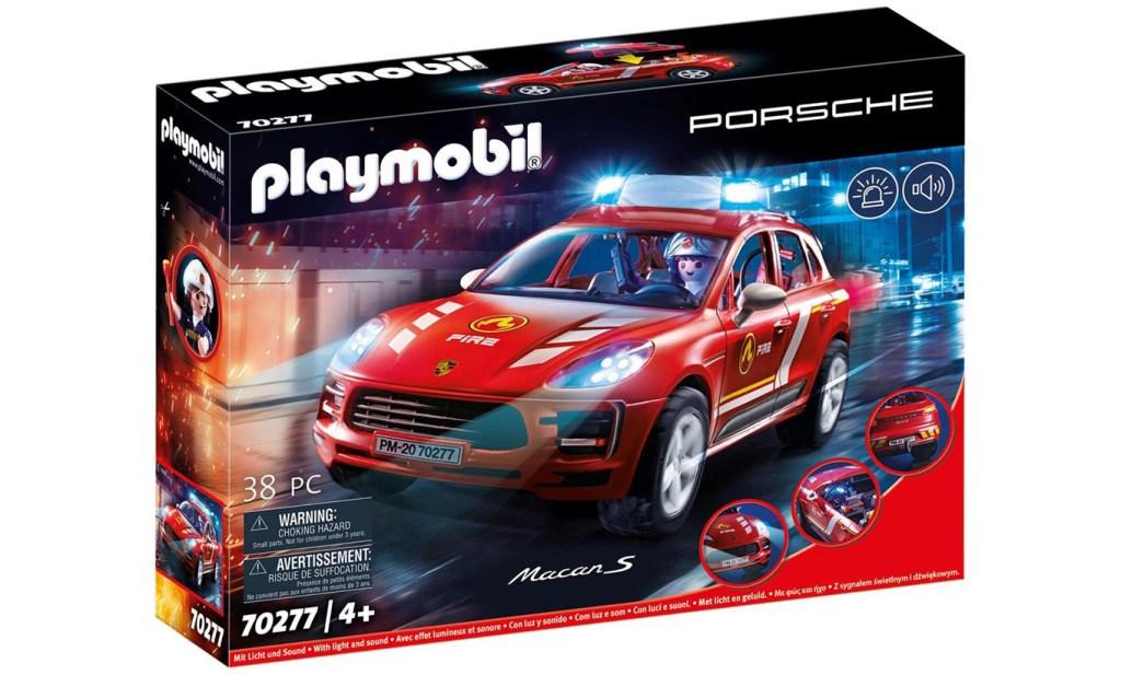 Playmobil 70277 Porsche Macan S pompiers