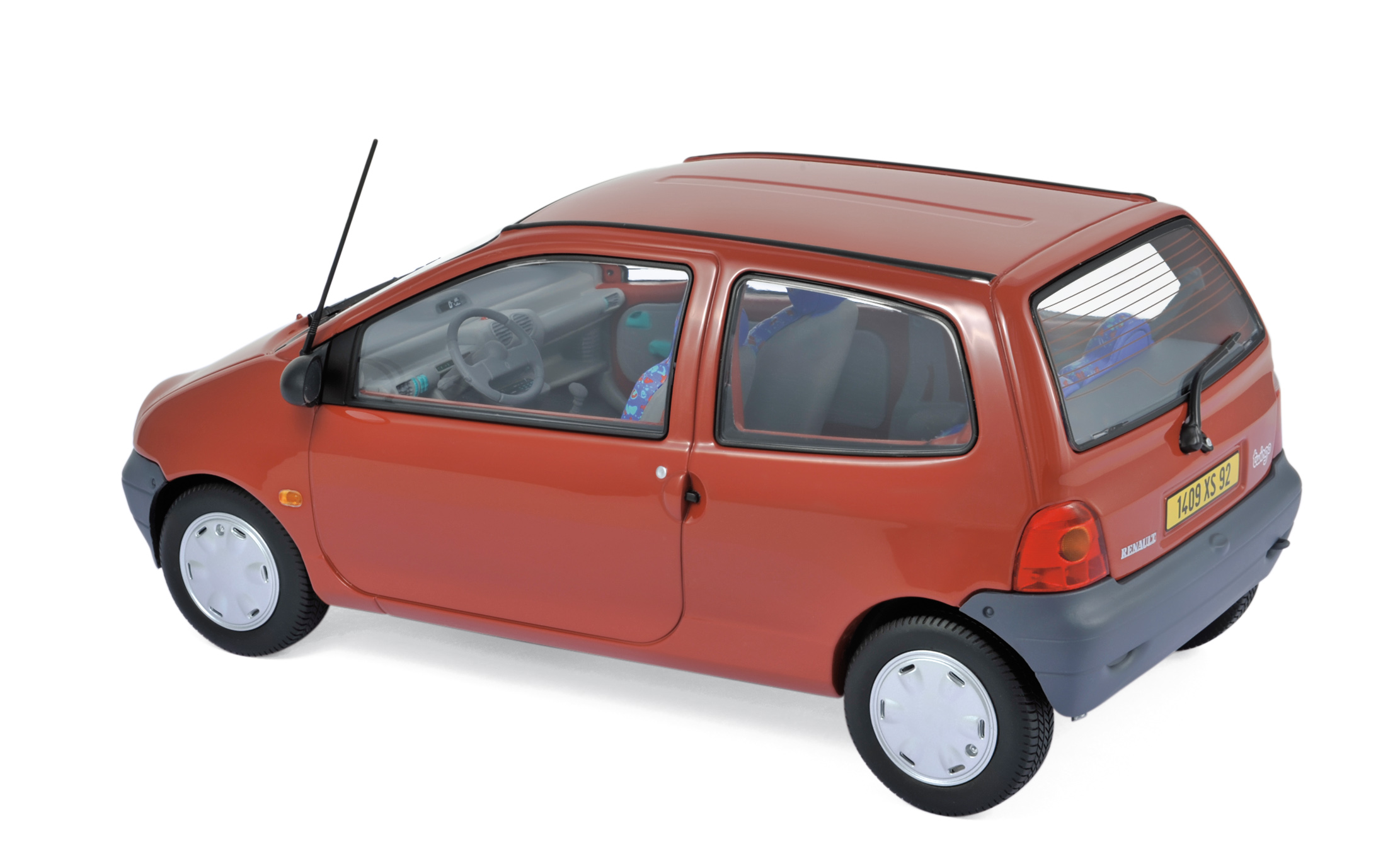 RENAULT TWINGO rouge Corail 1//18