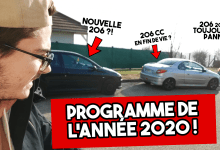 Photo of Programme YouTube 2020 : HDI 200+, 206 CC et nouveau daily !