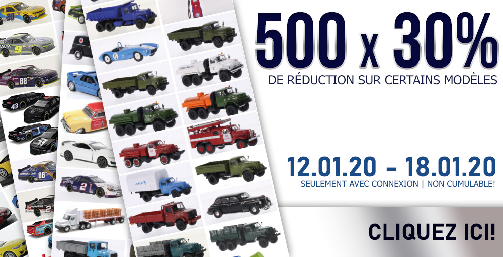 Modelcarworld 30% de réduction