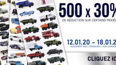 Photo of Modelcarworld : 30% de remise sur 500 miniatures