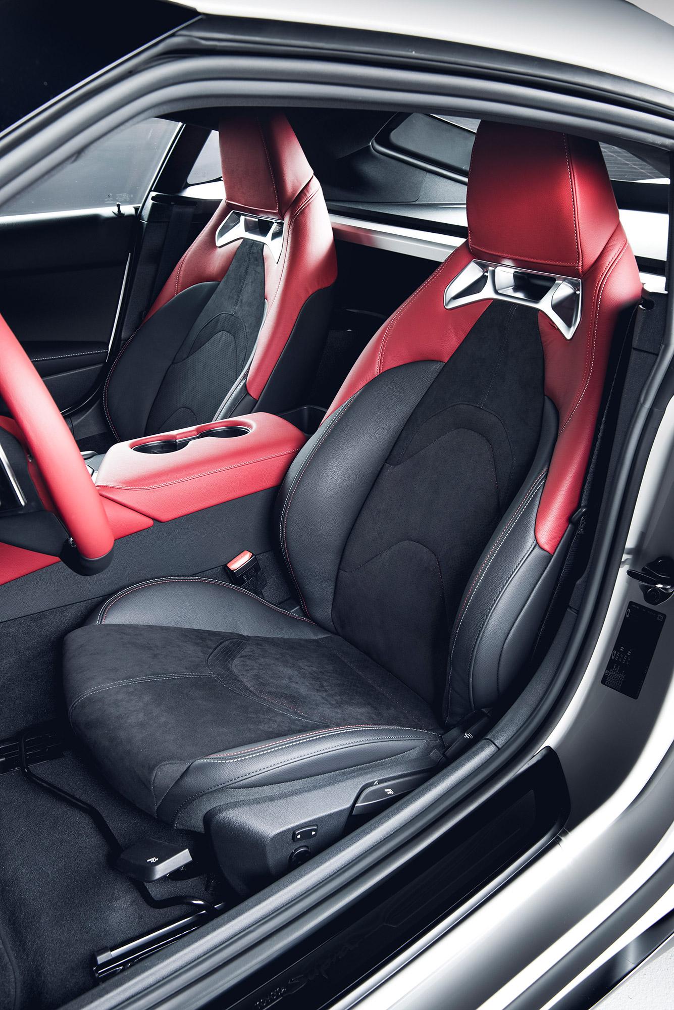 Toyota GR Supra 2.0 sièges