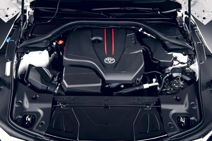 Toyota GR Supra 2.0 moteur