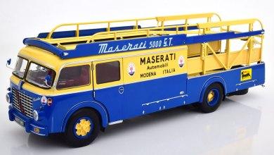 Photo of 1/18 : Un magnifique Fiat 642 RN2 aux couleurs de Maserati