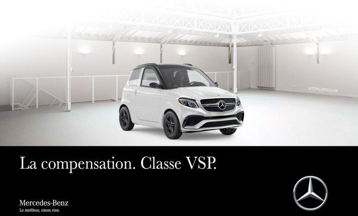 Voiture sans permis Mercedes