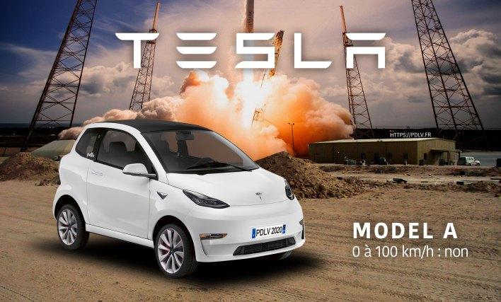 Voiture sans permis Tesla