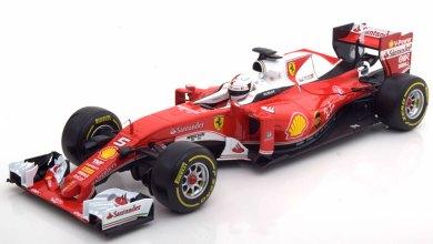 Photo de 1/18 : Les Ferrari SF15-T et SF16-H Bburago à 19,95 €