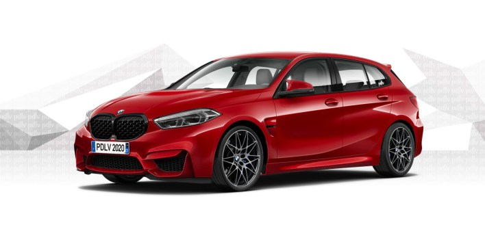 Photomontage BMW M1 (F40) 2020