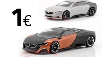 Photo de 1/64 : Les Peugeot Onyx et Exalt concept à 1 €
