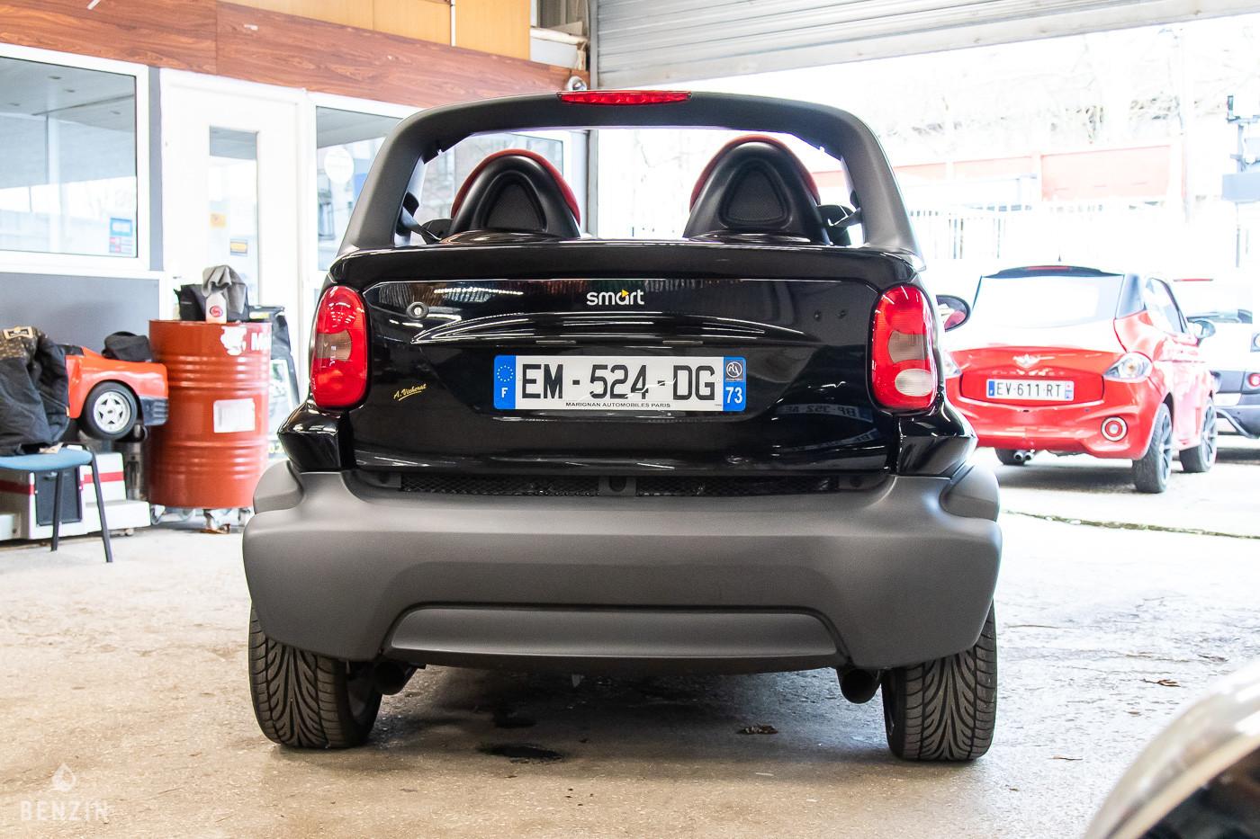 Arrière de la Smart Crossblade en vente chez Benzin
