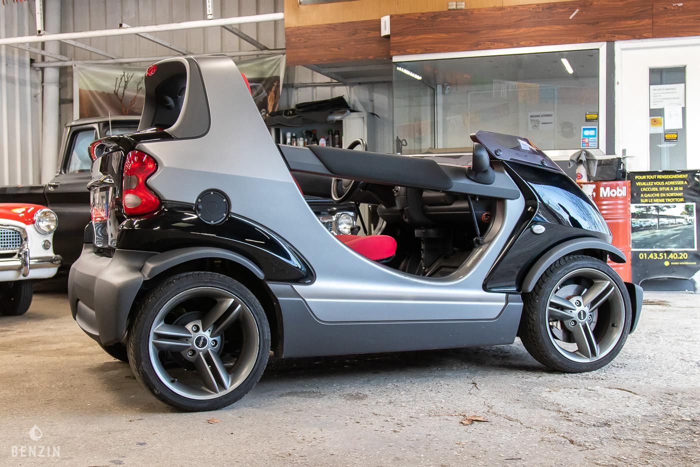 Smart Crossblade en occasion sur Benzin