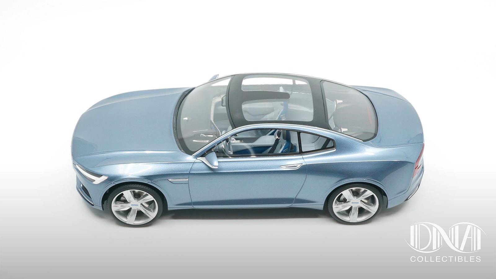 Profil de la Volvo Concept Coupé DNA Collectibles 1/18