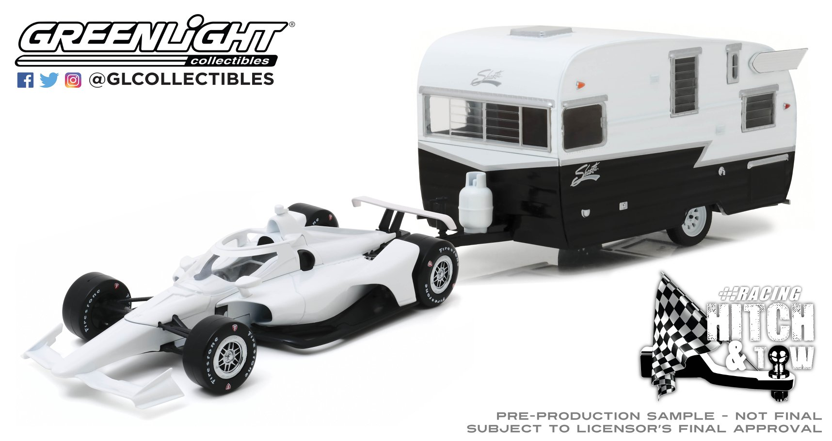 Greenlight Indycar caravane