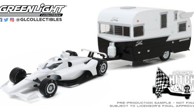 Photo of 1/64 : Une Indycar tractant une caravane ?