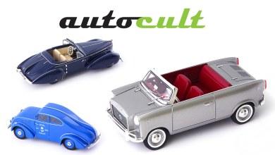Photo de 1/43 : Les nouveautés AutoCult pour avril 2020