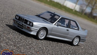 Photo of 1/12 : OttOmobile décline la BMW M3 E30 en Salmon Silver