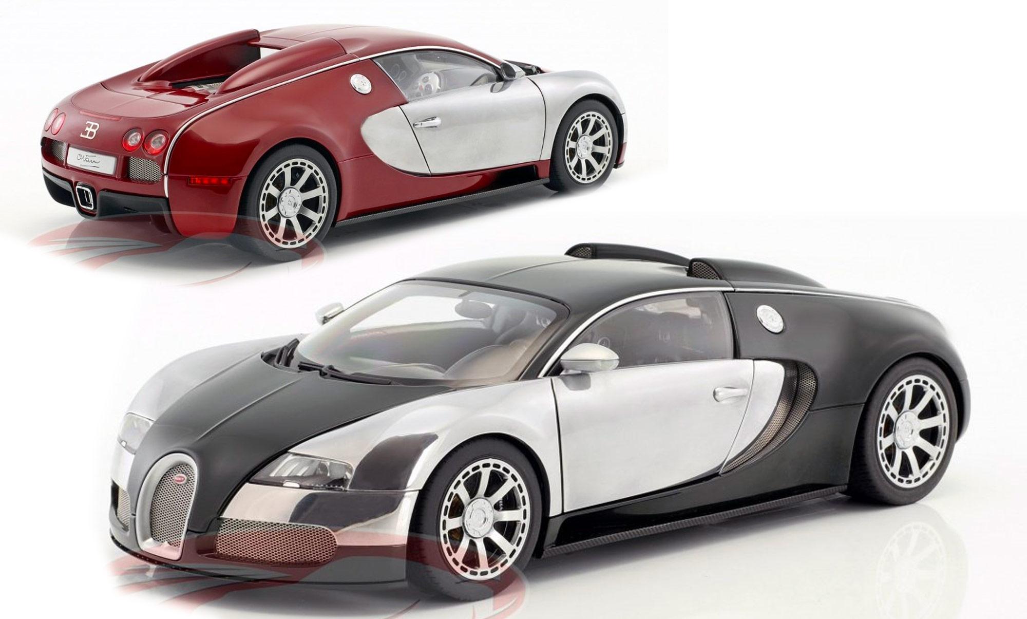 1/18 Bugatti Veyron AUTOart 70957 70958