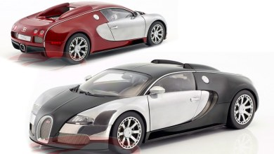 Photo de 1/18 : CK Modelcars brade les Bugatti Veyron AUTOart