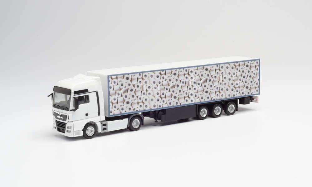1/87 Herpa camion papier toilette