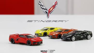 Photo of 1/64 : Mini GT prépare la Corvette C8