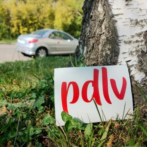 Sticker PDLV rouge