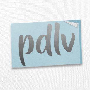 Sticker argent PDLV STF